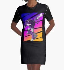 Shockwave Transformers Graphic T-Shirt Dress