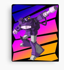 Shockwave Transformers Canvas Print