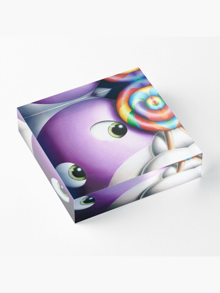 Alternate view of Impossimals® - The Best Things In Life Are Sweet Acrylic Block