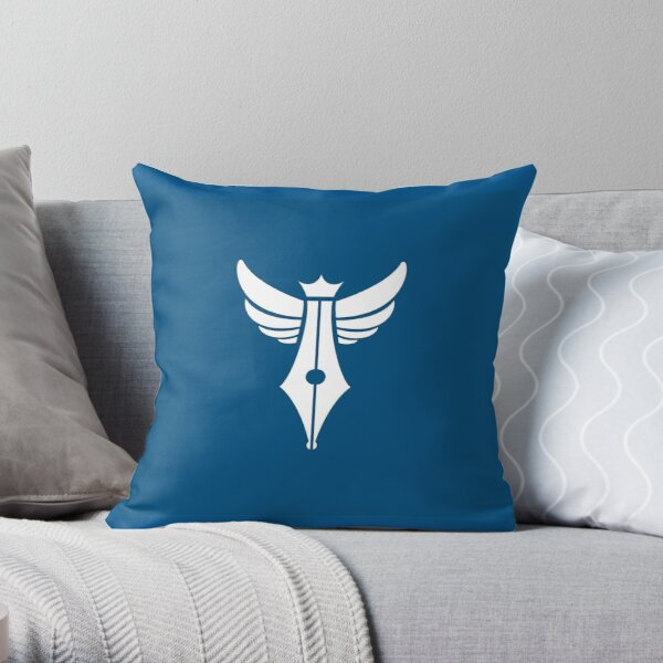 Zealot Script Logo Throw Pillow