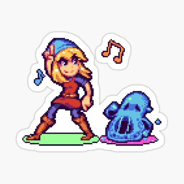 Pixel Art - Crypt of the NecroDancer Sticker