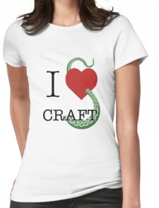 I Lovecraft Womens Fitted T-Shirt