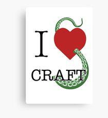 I Lovecraft Canvas Print
