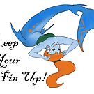 Keep Your Fin Up! by BlackCatMasque