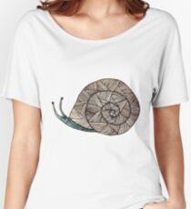 Snail Women's Relaxed Fit T-Shirt