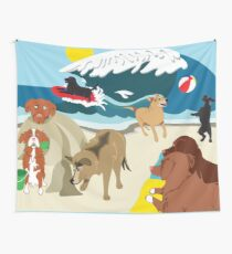 Dog Daze of Summer  Wall Tapestry