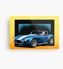 1966 Shelby Cobra 427 cu. In. I Metal Print