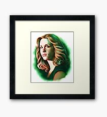 Mary Winchester Framed Print