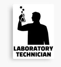 Laboratory technician Canvas Print