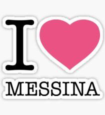 I ♥ MESSINA Sticker