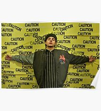 Nyck Caution Poster