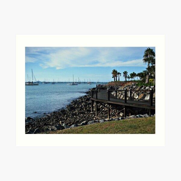 Airlie Beach Boardwalk Art Print