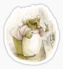 The Hedgehog- Beatrix Potter Sticker