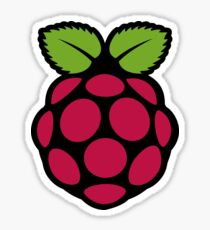 Raspberry Pi Logo Sticker