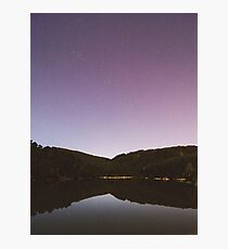stars at the river Photographic Print