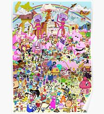Adventure Time - Where's Finn and Jake Poster