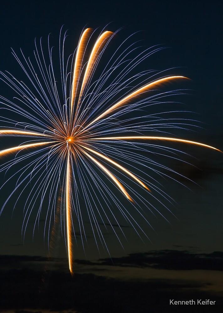 Big Blast - Fireworks Explosion by Kenneth Keifer