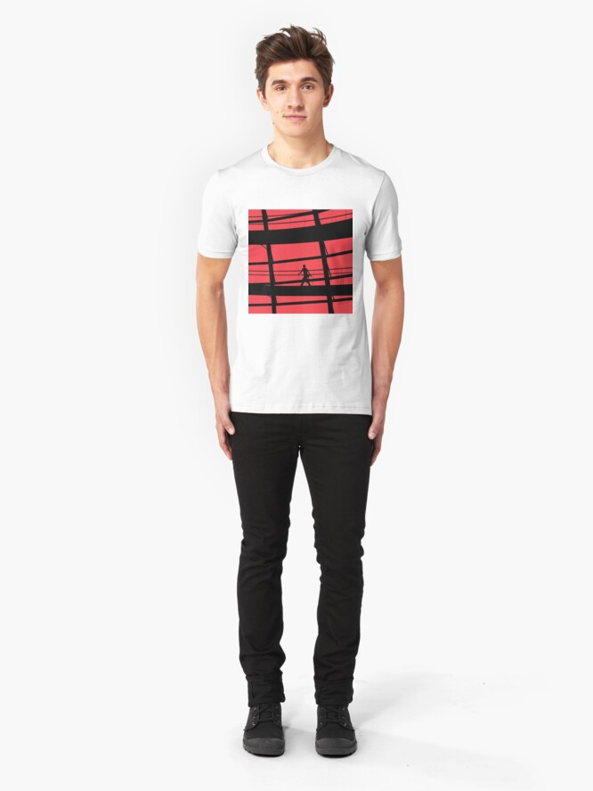 Alternate view of Red Square Slim Fit T-Shirt