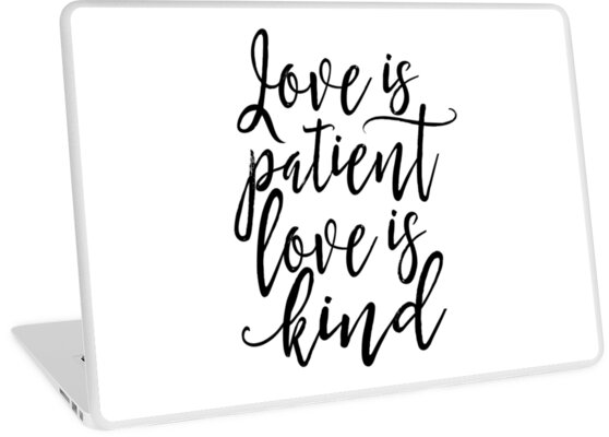 Love is patient love is kindfamily signhome decor wall artquote Amazing Love Is Patient Quote