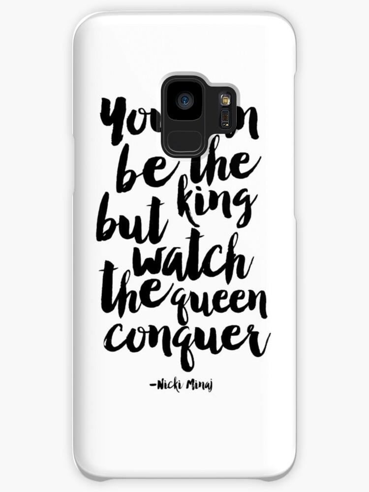 Fundas y vinilos para Samsung Galaxy «usted puede ser el rey, pero ...
