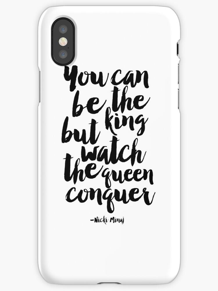 Vinilos y fundas para iPhone «usted puede ser el rey, pero vea la ...