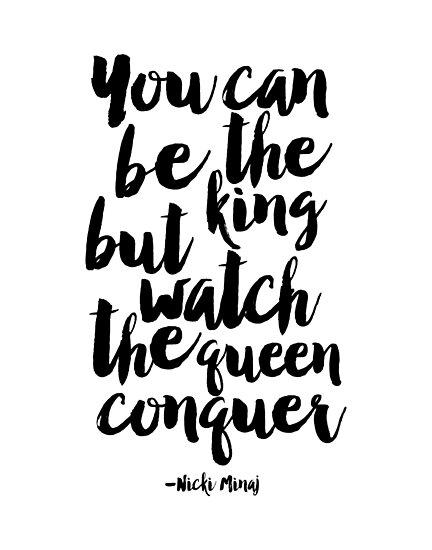 Láminas fotográficas «usted puede ser el rey, pero vea la conquista ...