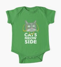 Cats Meow Side One Piece - Short Sleeve
