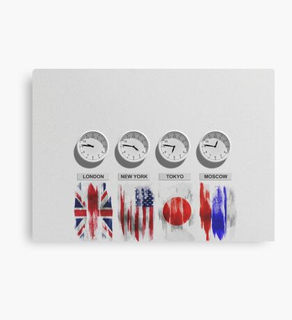 Our Time  Canvas Print
