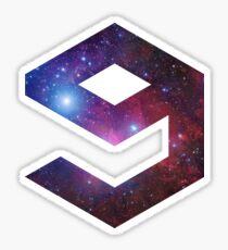 Pegatina 9gag - Galaxy logo