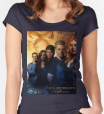 Shadowhunters - Poster #6 Women's Fitted Scoop T-Shirt