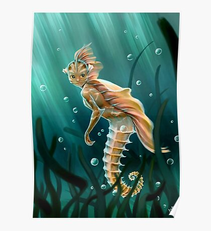 Creature underwater Poster