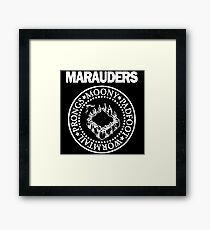 Logo Parody,The Marauders Framed Print