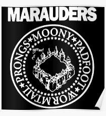 Logo Parody,The Marauders Poster