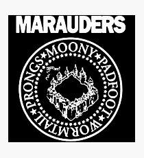 Logo Parody,The Marauders Photographic Print