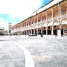 Square and building by Giuseppe Cocco