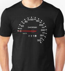 NISSAN スカイライン (NISSAN Skyline) R33 NISMO Speedometer Unisex T-Shirt