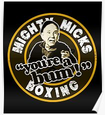 Mighty Micks Boxing.  Poster