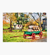 Bourbon Photographic Print
