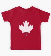 Canada - Maple Leaf Kids Tee