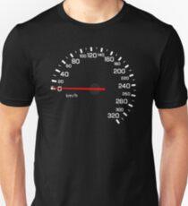 NISSAN N カ ン ン ン (NISSAN Skyline) R33 NISMO Speedometer w / o KM Unisex T-Shirt