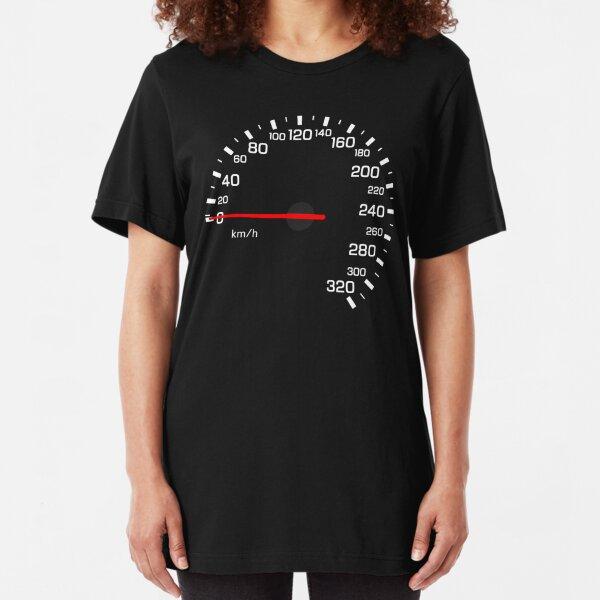 NISSAN スカイライン (NISSAN Skyline) R33 NISMO Speedometer w/o KM Slim Fit T-Shirt