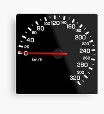 NISSAN N カ ン ン ン (NISSAN Skyline) R33 NISMO Speedometer w / o KM Metal Print