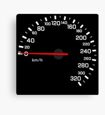 NISSAN スカイライン (NISSAN Skyline) R33 NISMO Speedometer w/o KM Leinwanddruck