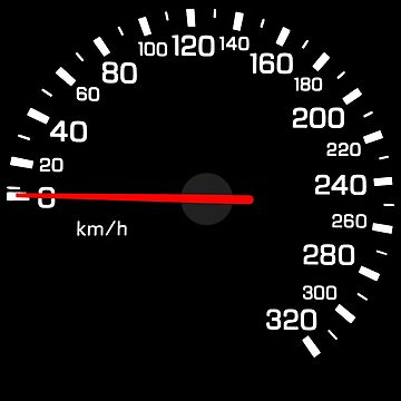 NISSAN スカイライン (NISSAN Skyline) R33 NISMO Speedometer w/o KM von officialgtrch