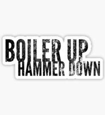 Boiler Up Sticker