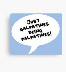 Galpatines Canvas Print