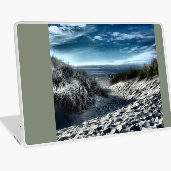 Day At The Beach Laptop Skin