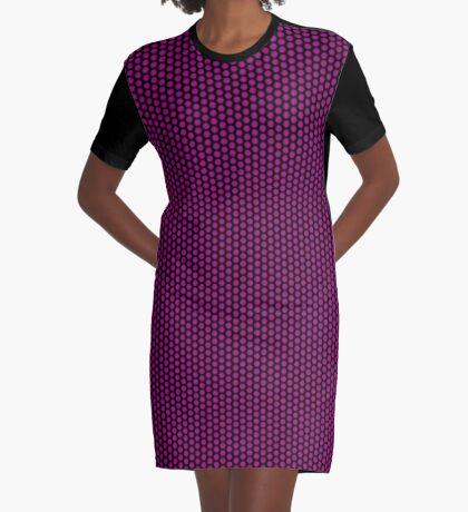 Digital Rose Swirl by Julie Everhart Graphic T-Shirt Dress
