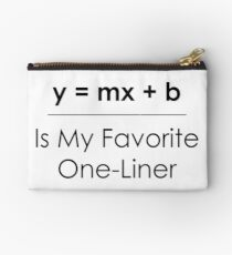 Math Pun One-Liner Studio Pouch