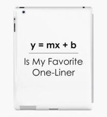 Math Pun One-Liner iPad Case/Skin